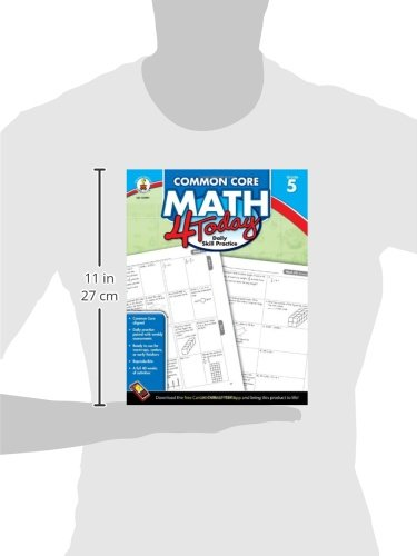 Math Worksheets free printable math worksheets 5th grade : Common Core Math 4 Today, Grade 5 (Common Core 4 Today): Erin ...