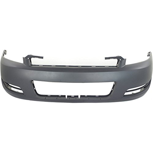 2006 Front Bumper Cover (New Evan-Fischer EVA17872019647 Front BUMPER COVER Primed for 2006-2013 Chevrolet Impala 2014-2015 Chevrolet Impala Limited)