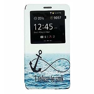 Teléfono Móvil Samsung - Carcasas de Cuerpo Completo - Diseño Especial - para Samsung Galaxy Note 4 ( Multi-color , Cuero PU )