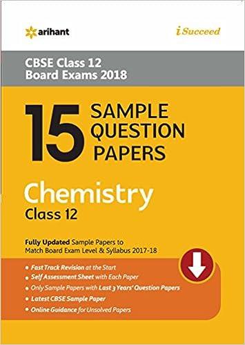 15 sample question papers chemistry for class 12 cbse amazon 15 sample question papers chemistry for class 12 cbse amazon geeta rastogi books malvernweather Choice Image