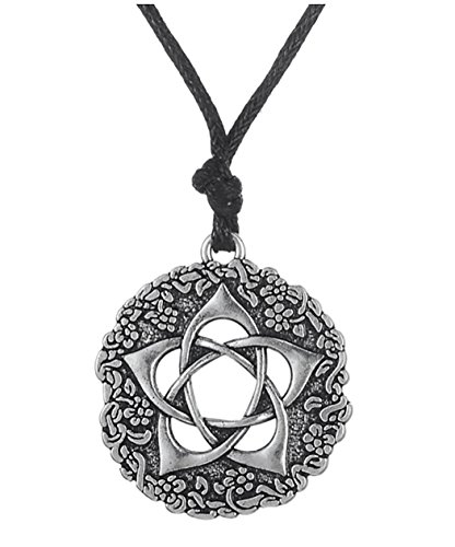 e Pentacle of the Goddess Pendant Necklace Jewelry Gift for Men&Women ()