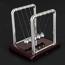 Newton's Cradle Steel Balance Ball Physics Science Pendulum Desk Toy