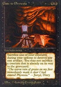 Magic: the Gathering - Gate to Phyrexia - Antiquities