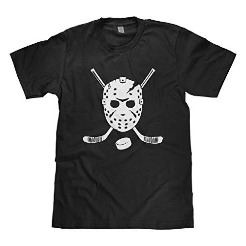 Mixtbrand Big Boys' Goalie Mask and Hockey Sticks Youth T-Shirt L Black
