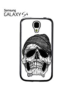 Skull with Beaine Retro Vintage Mobile Cell Phone Case Samsung Galaxy S4 Black