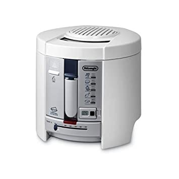 DeLonghi F26237, Blanco, Power, 2300 g, 280 x 265 x 310 mm, 220-240 MB/s, 50/60 Hz - Freidora: Amazon.es: Hogar