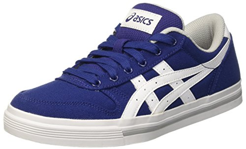 Aaron Basses Adulte Asics Mixte Print Blu Sneakers Blue White FqgzgZ
