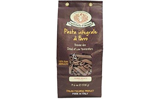 Rustichella d'Abruzzo Penne Rigate Farro - 17.6 oz (Cybercucina Pasta)