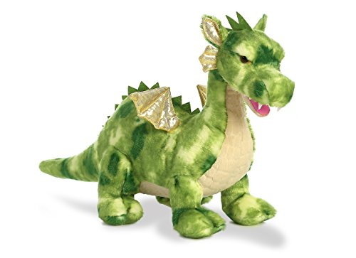 Plush Stuffed Dragon - Aurora World Dragon Plush, Vollenth The Green