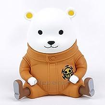 Bepo Bear One Piece Anime Figure Collectible Model Toy Coin Piggy Bank 15cm