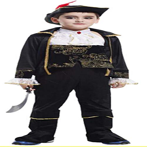 Pirate Costume Set Kid Children Couple Costume Halloween Party Clothing -