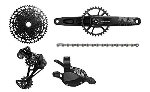 (SRAM NX Eagle Dub Groupset - Boost Black, 175mm/32T)