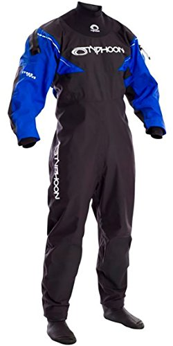 Typhoon Ezeedon 3 Front Zip Drysuit Dry Suit Grey Including Walrus Bag. Breathable