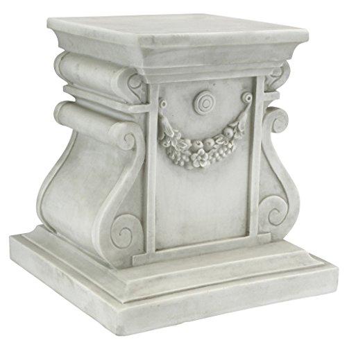 Medium Art Pedestal (Design Toscano Classic Statuary Plinth Bases, Medium)