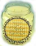 Tyler Glass Jar Candle – 22 Oz Long Burning Scented Candle – Dolce Vita Fragrance