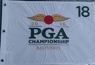 2016 PGA Championship BALTUSROL Golf Tournament Logo PIN FLAG