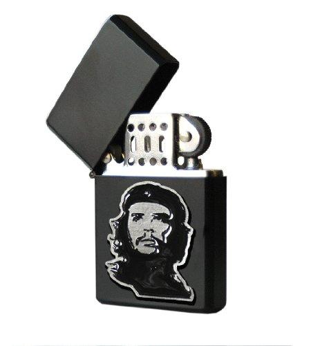 Che Guevara Store Lighter Lighter Black Metal Embossed Black (Che Guevara Berets)