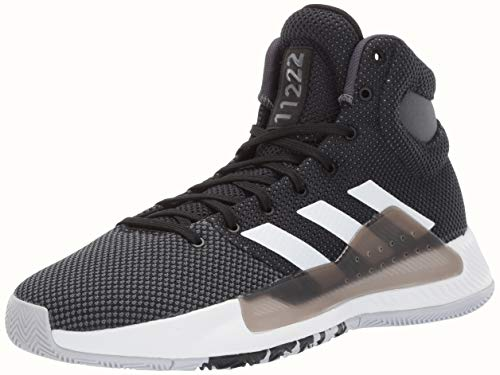 adidas Men's Pro Bounce Madness 2019, Black/White/Grey, 9.5 M US