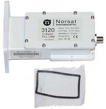 Norsat 3120 Satellite LNB PLL C-Band Digital Commercial for sale  Delivered anywhere in USA