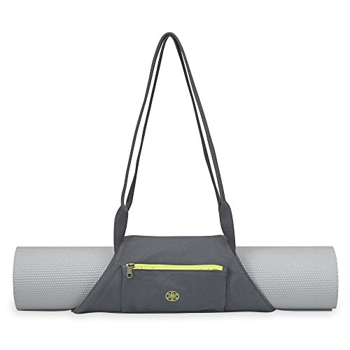 - Gaiam On-The-Go Yoga Mat Carrier, Citron Storm