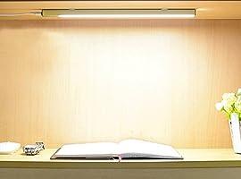 デスクライト 直管形LEDランプ ベッドサイドランプ Miyasora 高輝度 LEDライト LEDランプ USBライト USB給電 3段階調光 マグネット 貼り付け スイッチ付き