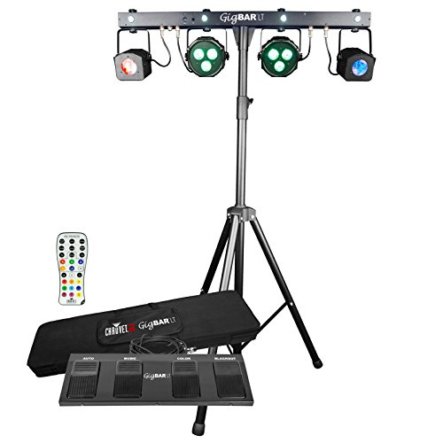 Chauvet DJ GigBAR LT Moonflower Washlights & Strobe LED IRC Light Effect System by CHAUVET DJ