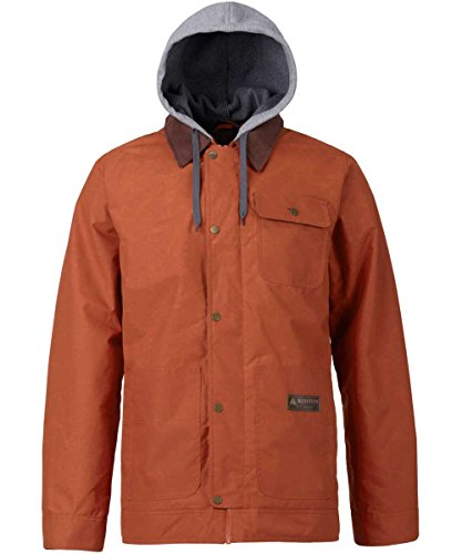 Burton Dunmore Snowboard Jacket Mens,Clay,Small