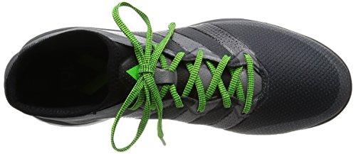 adidas Ace 16.1 Street, Zapatillas de Running para Hombre Negro / Gris (Negbas / Nocmét / Griosc)