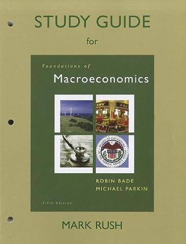 study guide for foundations of macroeconomics mark rush michael rh amazon com Grade 12 Economics Study Guide Grade 12 Economics Study Guide