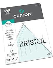 Canson Bristol tekenpapier, A3, 20 vellen