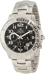 Viceroy 40325-55 - Reloj de caballero de cuarzo, correa de acero inoxidable color plata