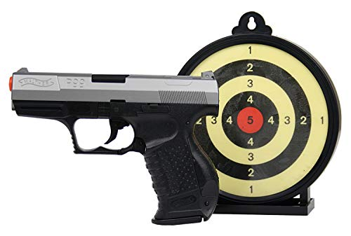 Walther P99 6mm BB Pistol Airsoft Gun Action Kit - Includes 100 BBs and Gel Target (P99 Bb Gun)