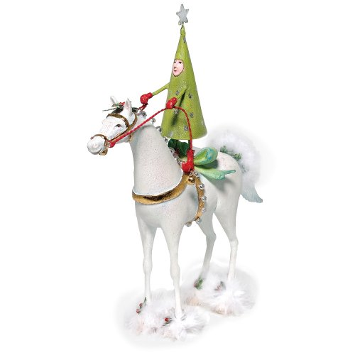 Department 56 Krinkles Tree on Horse Figurine