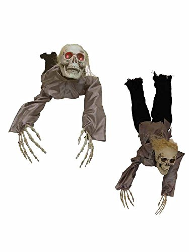 Animated Death Crawler Zombie Skeleton Prop [72113]]()