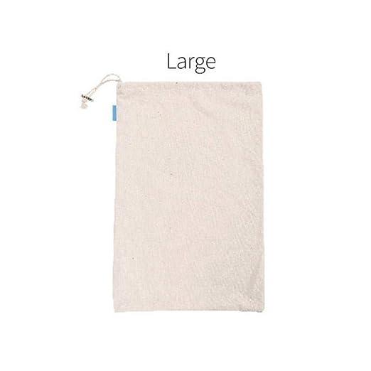 fancyU - Bolsa de la Compra de algodón Reutilizable a Granel ...