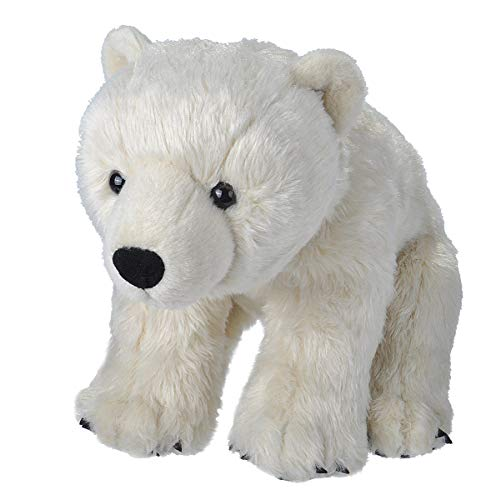 Wild Republic Polar Bear Plush, Stuffed Animal, Plush Toy, Gifts for Kids, Large, 15 inches