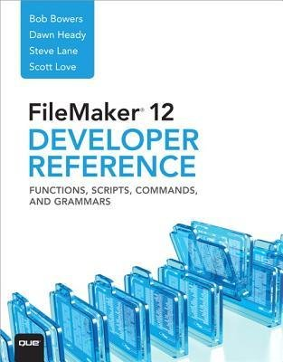 [ Filemaker 12 Developer'S Reference Functions, Scripts, Commands, And Grammars ] By Heady, Dawn ( Author ) Aug-2012 [ Paperback ] FileMaker 12 Developer's Reference Functions, Scripts, Commands, and Grammars Taschenbuch – 27. August 2012 Dawn Heady Pearso