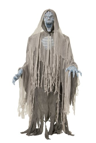 EVIL ENTITY LIFESIZE Haunted House 70in Halloween Prop Animated Ghost Zombie MR-124198 -