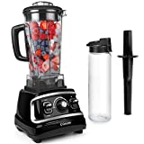 COSORI Blender for Shakes and Smoothies(Free Recipes),1500W High Speed Professional Blender for Crushing Ice, Frozen Fruit with 70oz Pitcher&24oz Travel Bottle,2-Year Warranty,UL Listed/FDA Compliant