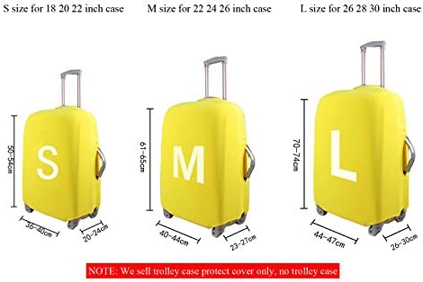 LedBack Football Print Luggage Cover for 18-30 Inch Suitcase Travel Trolley