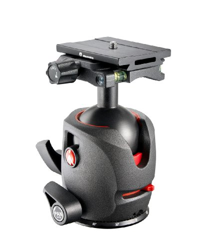 Manfrotto MH055M0-Q6 055 Magnesium Ball Head with Q6 Top Lock Quick Release (Black)