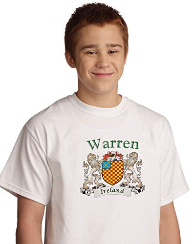 Warren Irish coat of arms tee shirt in White