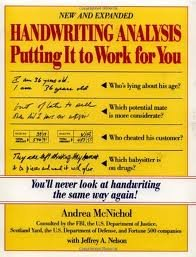 Handwriting Analysis 1st (first) edition Text Only
