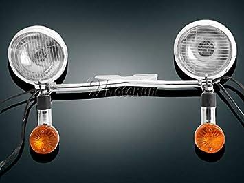 Passing Signals Light Bar For Kawasaki VN Vulcan Classic Nomad Drifter 1500 1600