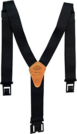 Dickies Men's Perry Suspender, Black, One Size