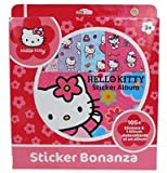 : Sanrio Hello Kitty Sticker Album -105 stickers & 1 Album