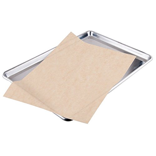 2dayShip Quilon Parchment Paper Baking Liner Sheets, Unbleached Brown , 12 X 16 Inches, 200 Count