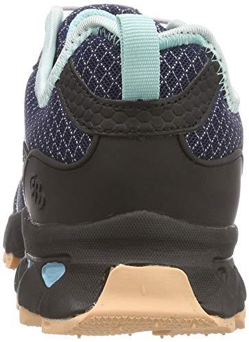 Marine Bruetting Rise Hiking Low Blau Countdown Lachs Women's Blue Lachs Marine Blau Shoes BBw1C0q