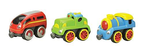Magnetic Outdoor Car - Small World Toys Preschool - Tailgate Trio - Locomotives