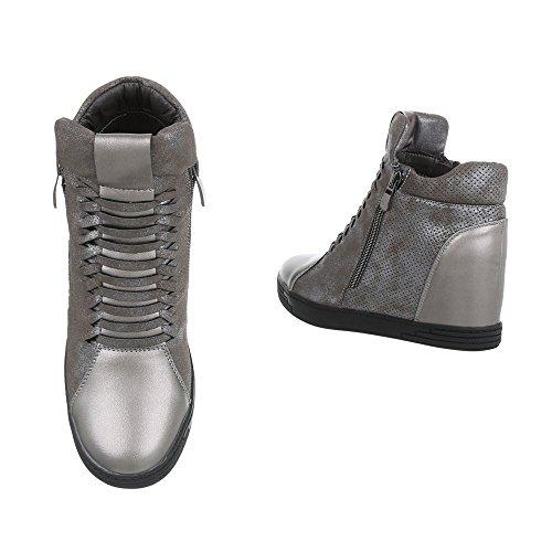 et femme Bottes Chaussures bottines Compens qp1TXP